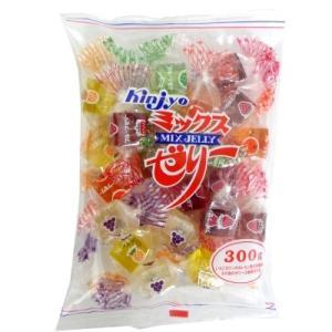 ミックスゼリー 300g×1袋 金城製菓 寒天フルーツゼリー|mizota