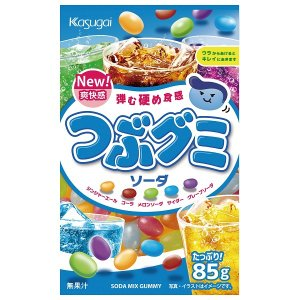 つぶグミソーダ 90袋 大量特売価格 春日井製菓|mizota