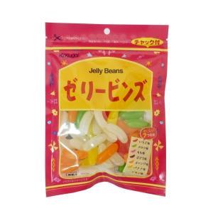 ゼリービンズ 121g×6袋 春日井製菓 ゼリービーンズ チャック付き 無果汁|mizota