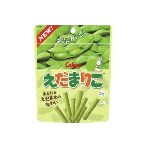 カルビー えだまりこ うましお味 35g×72袋 じゃがりこの枝豆バージョン mizota