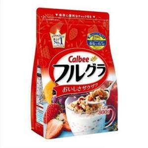 カルビー フルーツグラノーラ フルグラ 800g ファミリーサイズ徳用袋×6袋(800g×6袋) 数量限定特価|mizota