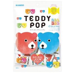 カンロ テディポップ キャンデー 70g×6袋 限定特価60%引き TEDDY POP 賞味表示2017.11月末|mizota