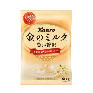 金のミルク 濃い贅沢 キャンディ 675g×6袋(約4kg) カンロ KANRO 大容量パック 北海道産生クリーム使用 mizota