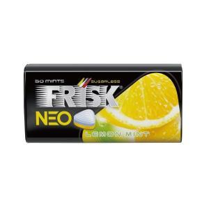 【クラシエ】 フリスク ネオ レモンミント 35g×1個 シュガーレス 大粒タブレット mizota