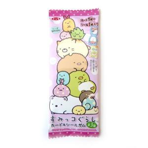 トップ製菓 すみっコぐらし カード&シールガム 24入り6BOX|mizota