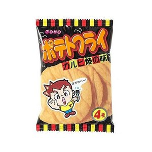 【大量特価】ポテトフライ カルビ焼の味 20袋入り20BOX 東豊製菓 400袋【駄菓子・卸売】 mizota