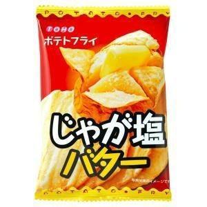 【大量特価】ポテトフライ じゃが塩バター味 20袋入り20BOX 東豊製菓 400袋【駄菓子・卸売】 mizota
