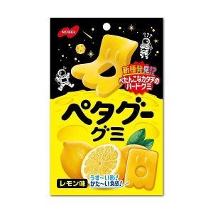 ペタグー レモン ハードタイプのグミキャンデー 6個入り1BOX ノーベル製菓|mizota