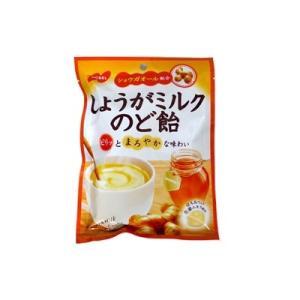 しょうがミルクのど飴 100g 袋タイプ【ノーベル製菓】|mizota
