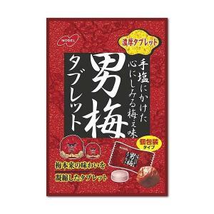 男梅 タブレット 55g×6袋 ノーベル製菓 個装入 mizota