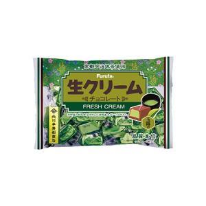 生クリームチョコプレミアム 大人の宇治抹茶 ファミリーパック【フルタ製菓】|mizota