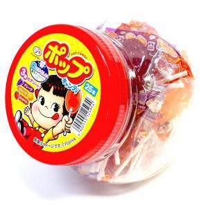 ポップキャンディ容器入り【不二家】25本入り×6ポット ペコちゃんポップキャンデー|mizota