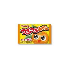 つぶつぶみかんガム【マルカワ】55入り1BOX|mizota