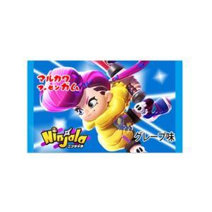 マルカワ ニンジャガム グレープ味 55個+あたり付き 任天堂スイッチ用  ゲームキャラクター ニンジャラ mizota