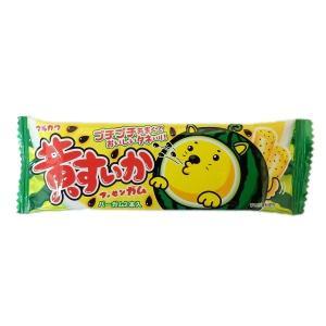 黄すいかガム 20個入×1BOX マルカワ製菓 タネ入りガムが2本入り 黄すいか味 mizota