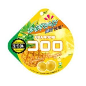 コロロ ゴールデンパイン 40g×6袋入り1BOX UHA味覚糖|mizota