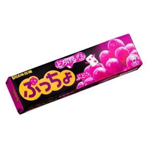 【卸価格】 ぷっちょスティックとろけるグミ入り ぶどう UHA味覚糖 10本入り1BOX 【特価】|mizota