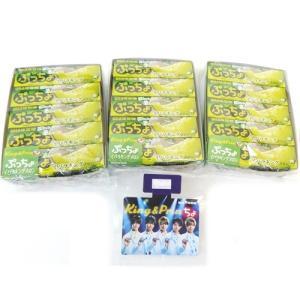 ぷっちょ スティック イバラキングメロン 10個入り×3BOXセット(30個)UHA味覚糖 ★King&Princeスイングポップ1枚付き 代引き不可商品|mizota