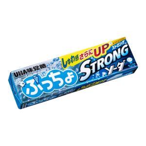 ぷっちょスティック ストロングソーダ【UHA味覚糖】10本入り1BOX|mizota