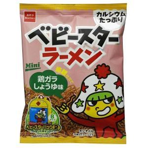 ベビースター ラーメン 21g みそ味【おやつカンパニー】30袋入り1BOX mizota