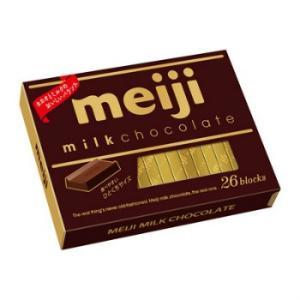 明治 ミルクチョコレートBOX 120g(26枚)X6個