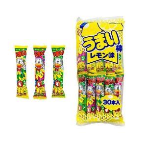 うまい棒 レモン味 30本 やおきん mizota