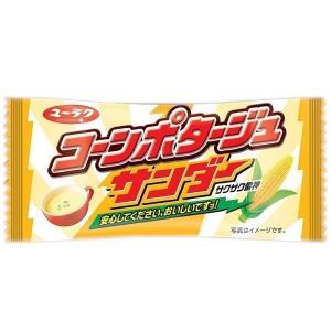有楽製菓 ブラックサンダー コーンポタージュサンダー 20個入り16BOX(320個) 駄菓子 チョコ 夏季クール便配送(別途330円〜)|mizota