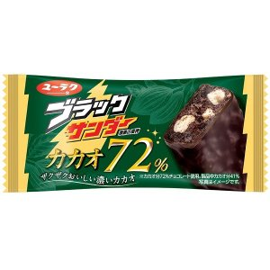 有楽製菓 ブラックサンダー カカオ72% 20個入り6BOX  夏季クール便配送(別途330円〜)|mizota