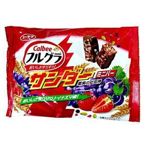 フルグラサンダー ミニバー 1袋 フルグラ Xブラックサンダー【有楽製菓】カルビーの「フルグラ」とコ...