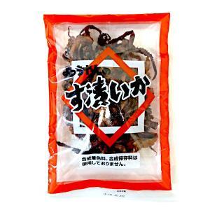 よっちゃんのす漬いか(合成着色料、合成保存料は使用なし)100g お徳用袋【よっちゃん食品工業】