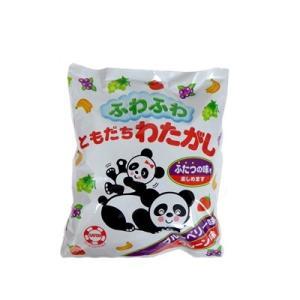 ふわふわ ともだちわたがし 72袋(6袋X12) 佐藤製菓 1袋に2種類 代引き不可|mizota