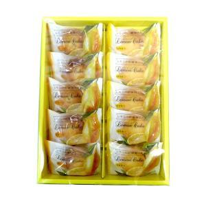 中山製菓 レモンケーキ 10個入×1箱 ギフト|mizota