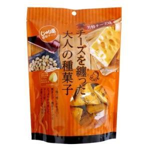 トーノー じゃり豆 濃厚チーズ 80g×1袋 チーズを纏った大人の種菓子 芳醇チーズ味|mizota