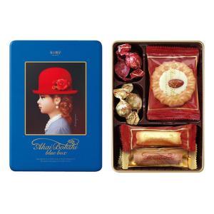 【お歳暮 お中元 ギフト】赤い帽子 ブルーボックス クッキー詰合せギフト 缶入り チボリーナ 12箱【卸価格】|mizota