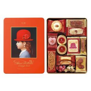 【お歳暮 お中元 ギフト】赤い帽子 オレンジボックス クッキー詰合せギフト 缶入り チボリーナ 【卸価格】|mizota