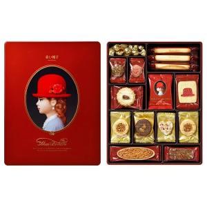 赤い帽子 レッド 403g×6箱 クッキー詰合せギフト 缶入り チボリーナ 卸価格 お歳暮・お中元・ギフト 代引き不可|mizota