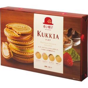【お歳暮 お中元 ギフト】赤い帽子 クッキア 32枚 クッキー詰合せギフト×6箱 KUKKIAチボリーナ【卸価格】|mizota
