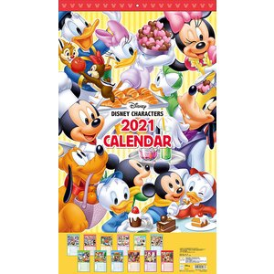 CL-066  ディズニー  2021年カレンダー  【代引不可】 mizota