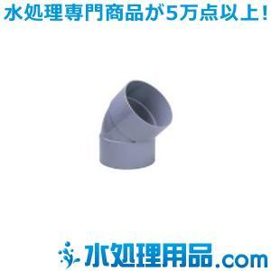 旭有機材工業 大口径継手 45°エルボ  VU-45L型 300A AVVU-45L300|mizu-syori
