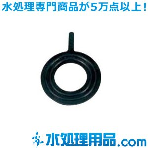 旭有機材工業 フランジ用ガスケット 内面パッキン EPDM  JIS10K 150A AVP-NEJ10-150|mizu-syori