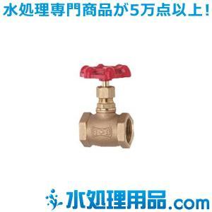 キッツ 青銅・黄銅バルブ グローブ Q型 1インチ(25A) Q-1|mizu-syori