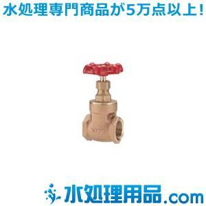 キッツ 青銅・黄銅バルブ ゲート S型 1/2インチ(15A) S-1/2|mizu-syori