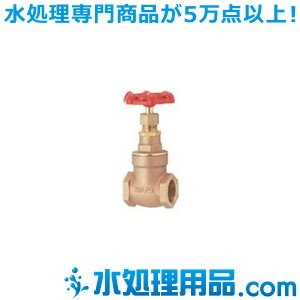 キッツ 青銅・黄銅バルブ ゲート E型 3/4インチ(20A) E-3/4 mizu-syori
