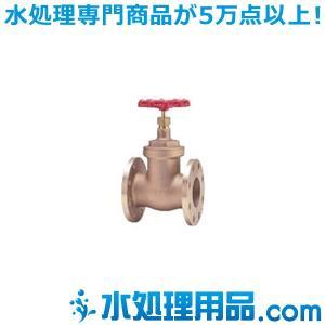 キッツ 青銅・黄銅バルブ ゲート EBH型 4インチ(100A) EBH-4|mizu-syori