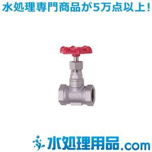 キッツ ステンレス鋼バルブ グローブ UCL型 1/2インチ(15A) UCL-1/2 mizu-syori
