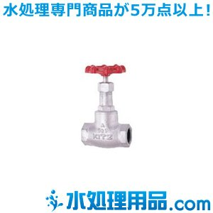 キッツ ダクタイル鉄バルブ グローブ 10SD型 2インチ(50A) 10SD-2 mizu-syori