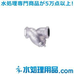 キッツ ダクタイル鉄バルブ Y形ストレーナ 16FDYK型 1/2インチ(15A) 16FDYK-1/2|mizu-syori
