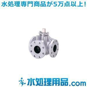 キッツ ダクタイル鉄バルブ ボール(三方) 10STR4TAF型 8インチ(200A) 10STR4TAF-8|mizu-syori