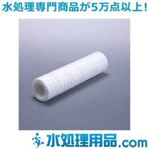 糸巻きフィルター 10インチ ポリプロピレン 1ミクロン SWPP1-10|mizu-syori