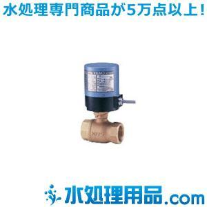 キッツ 電動バルブ 青銅製ボールバルブ EA100-TE型 1/2インチ(15A) EA100-TE-1/2 mizu-syori